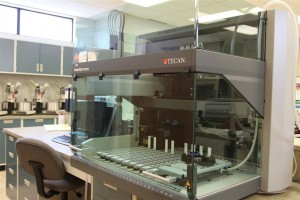 TECAN EVO100 Automated Robotic Liquid Handling